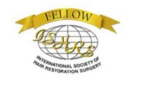 Member logo - International Society of Hair Restoration Surgery